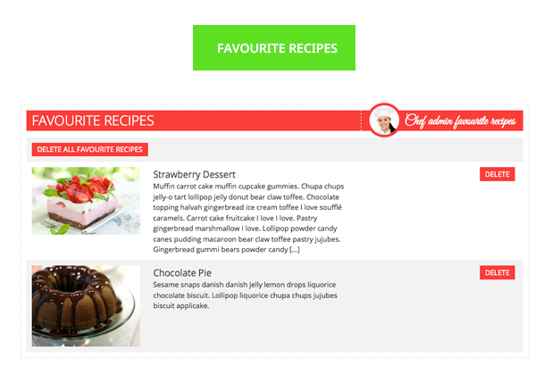 Le Chef - Premium Recipe Plugin