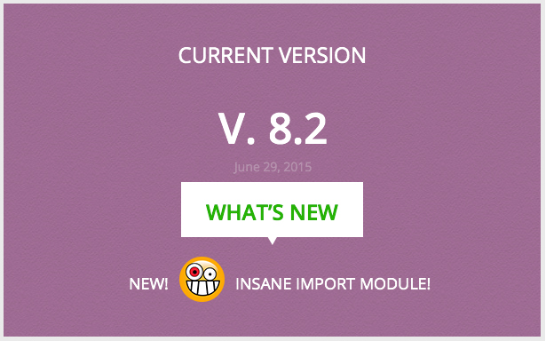CURRENT VERSION 8.2 NEW INSANE Import-Modul! NEU!