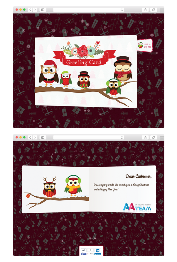 Business Christmas Greeting Card - WP Plugin - 2 Business Christmas Greeting Card - WP Plugin - card - Business Christmas Greeting Card – WP Plugin