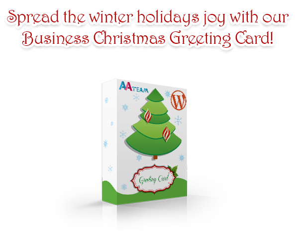 Business Christmas Greeting Card - WP Plugin - 1 Business Christmas Greeting Card - WP Plugin - greetingcardd - Business Christmas Greeting Card – WP Plugin