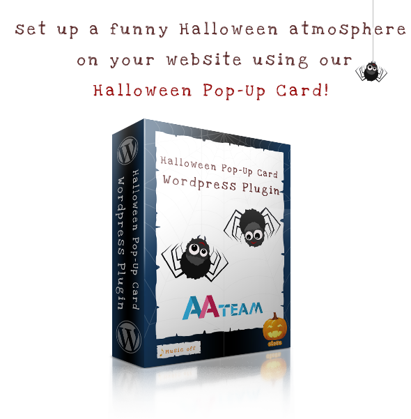 Halloween Pop-Up Card – WordPress Plugin - 1 Halloween Pop-Up Card – Wordpress Plugin - headline - Halloween Pop-Up Card – Wordpress Plugin