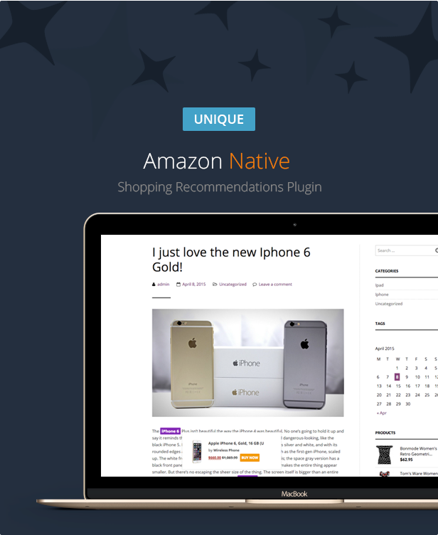 Amazon Native Shopping Recommendations Plugin - 1 Amazon Native Shopping Recommendations Plugin - woozoneprezentationnew - Amazon Native Shopping Recommendations Plugin