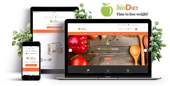 BioDiet – Nutrition & Weight Loss WordPress Theme