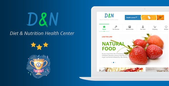Diet & Nutrition Health Center – WordPress Theme
