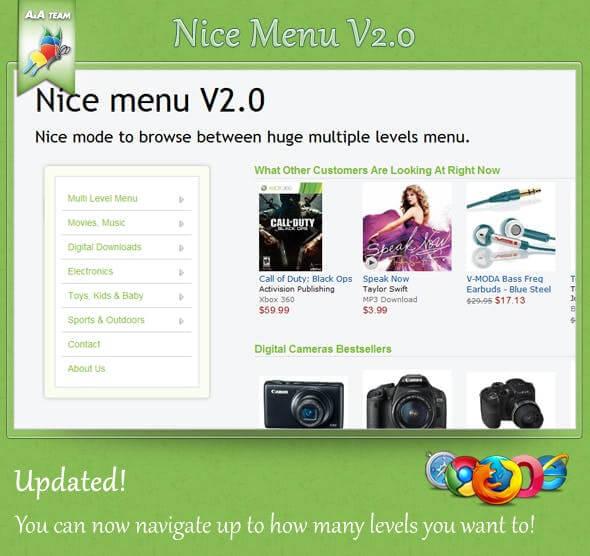 nice menu v1.0