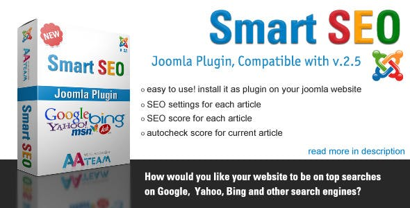 Smart SEO – Joomla Plugin