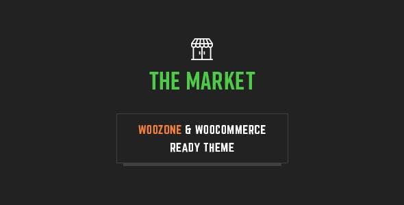 the market – woozone affiliates theme