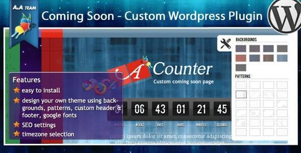 Premium Coming Soon – WordPress plugin