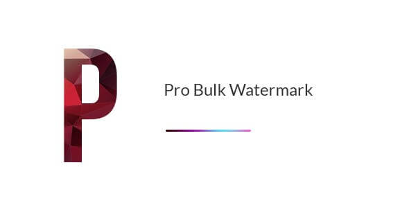 Pro Bulk Watermark Plugin for WordPress